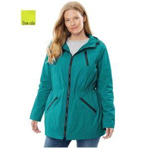Plus Size Lightweight Jacket 5x 38/40 NWOT